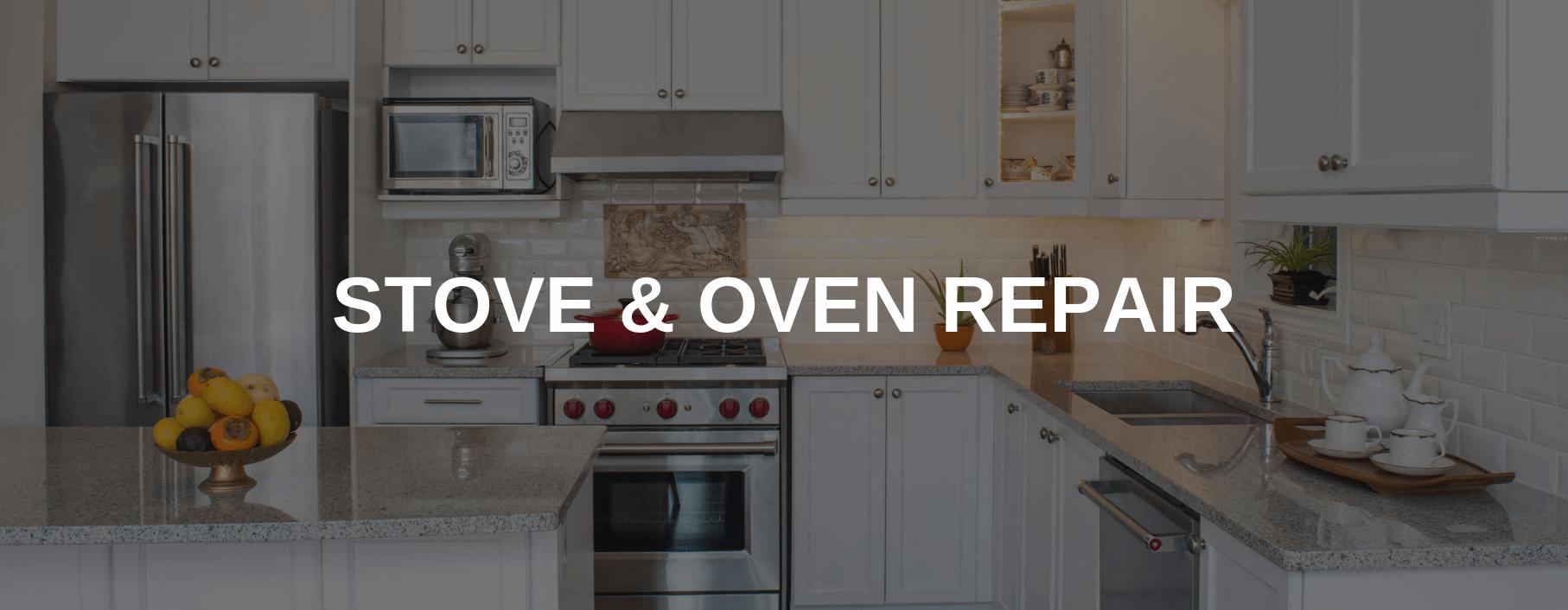 stove repair euless